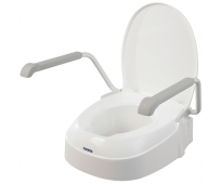 Rehausse WC Ajustable Avec Abattant et Accoudoirs - AT900 - INVACARE
