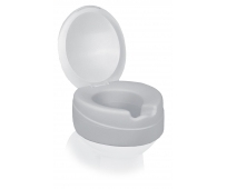 Rehausse WC souple - Contact Plus Néo - avec Couvercle - 11cm - HERDEGEN