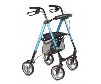 Rollator 4 roues - Pliant et Léger - Boston - Bleu - DRIVE