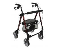 Rollator 4 roues - Boston - Rouge - DRIVE