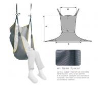 Sangle Hamac - avec Têtière - Lève-personne - Tissu - Spacer - INVACARE