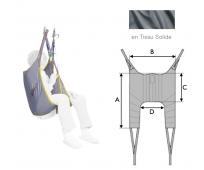 Sangle Universelle Standard - Lève-personne - Tissu - Solide - INVACARE