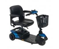 Scooter Electrique 3 roues - Colibri Outdoor Bleu - INVACARE