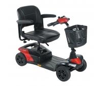 Scooter Electrique 4 roues - Colibri Indoor Rouge - INVACARE