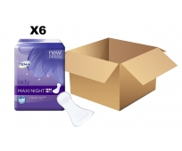 TENA Lady - Maxi Night x12 - Carton de 6 paquets
