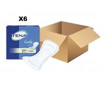 TENA Lady - Super x30 - Carton de 6 paquets