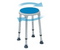 Tabouret Rond - Blue Seat - Assise Pivotante - HERDEGEN