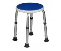 Tabouret Rond - Blue Seat - HERDEGEN