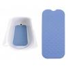 Tapis de bain antidérapant - 90x40 cm - Bleu - DRIVE