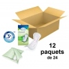 TENA Discreet - Normal - x24 - Carton de 12 paquets