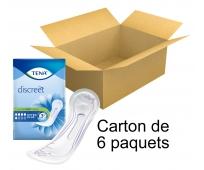 TENA Discreet - Extra Plus - x16 - Carton de 6 paquets