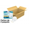 TENA Comfort Proskin - Protections Anatomiques - Extra - x40 - Carton de 2 paquets