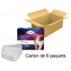 TENA Silhouette - Taille basse - Normal blanc - Carton de 6 paquets