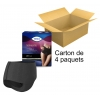 TENA Silhouette - Taille haute - Plus noir - Medium - x9 - Carton de 4 paquets