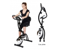 Vélo d'Appartement - SV314 - Pliant avec Dossier - CARE STRIALE