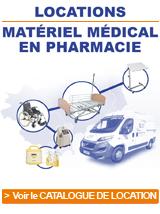 Voir notre catalogue de location de matériel médical Univers Santé