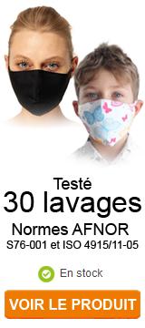 Nouveaux Masques barrières aux Normes et disponibles immédiatement